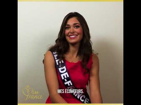 Portrait Lison Di Martino pour Miss France 2018