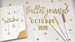 Bullet journal OCTUBRE 2020// organízante conmigo✨