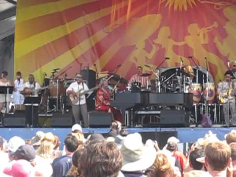 "Allen Toussaint JF2011 Ernie K Doe's ""Here Come The Girls"""