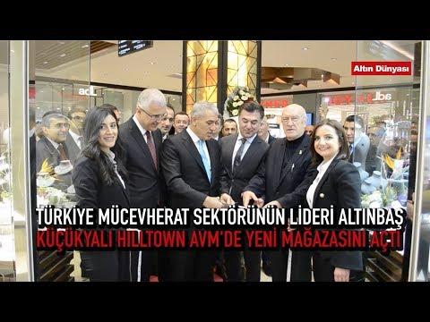 Altınbaş'ın, Küçükyalı Hilltown AVM'deki Yeni Mağazası Açıldı