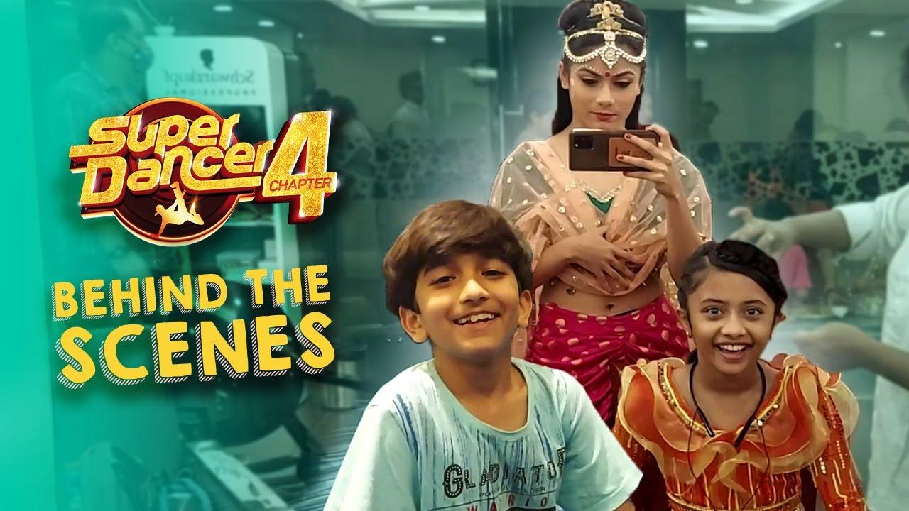 Super Dancer 4 - Behind The Scenes with Swetha, Amit & Pratiti - Ft Anshika, Esha- सुपर डांसर 4