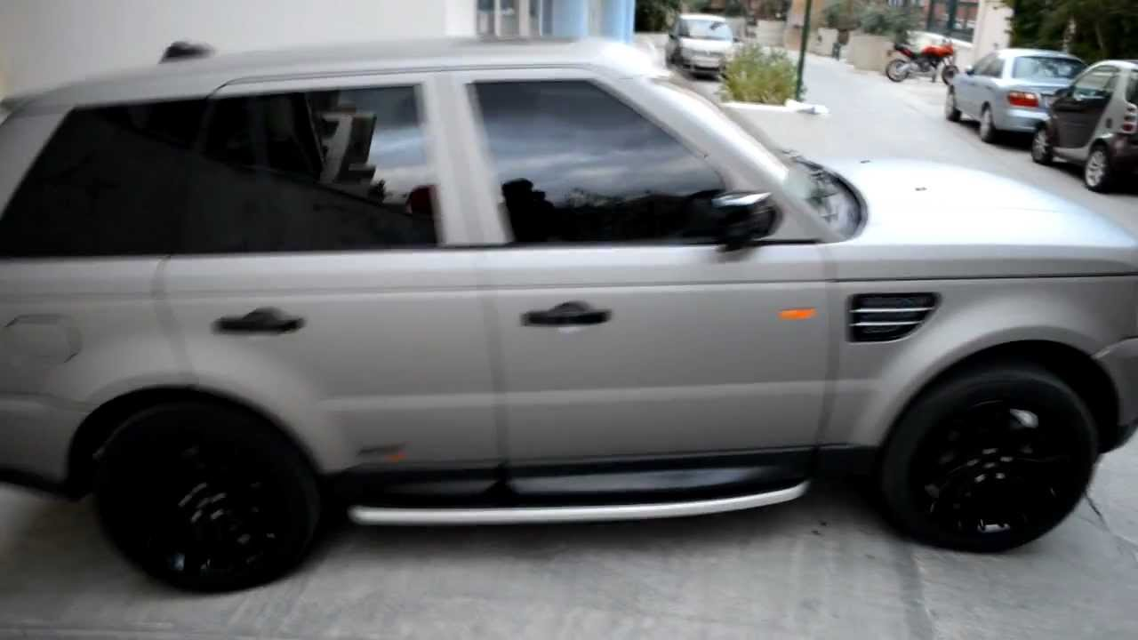 3m Protect Car Wrap Range Rover M230 With Matte Grey