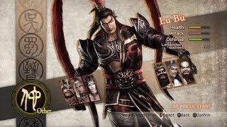 Dynasty Warriors 7 All Characters [PS3]