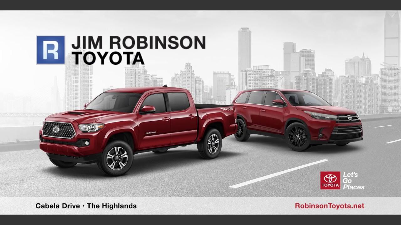 Jim Robinson Toyota >> Jim Robinson Toyota January 2019 Promo 1 Youtube