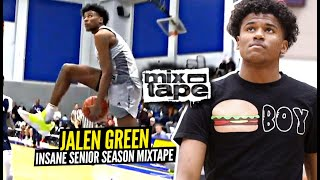 Jalen Green Is The #1 Player in America!! OFFICIAL SENIOR SEASON MIXTAPE!!