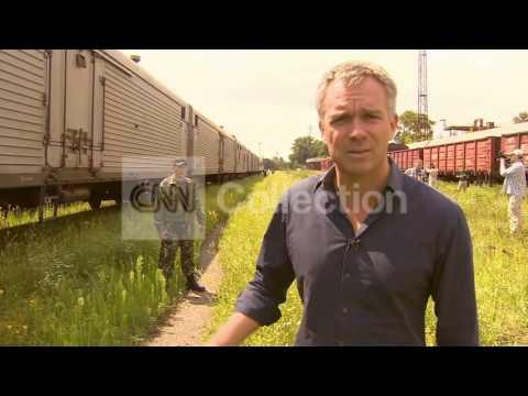 MH17:BODIES ARRIVE IN KHARKIV