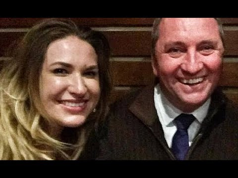 Barnaby Joyce, Vikki Campion sit down for media interview