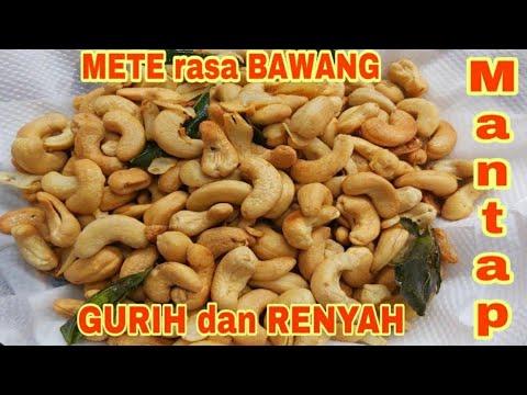 Mede Goreng Pedas manis   Kacang Mete Goreng RenyahBAHAN-BAHAN500 gram kacang Mete/Mede 7 buah cabai merah keriting ....