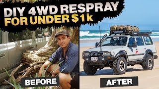 WHY SHAUNO & GRAHAM RAPTOR COATED THEIR 4WDs – how to do it yourself at home + we re-spray a 4WD!
