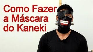 Como Fazer a Máscara do Kaneki para Cosplay - Dicas de Cosmaker