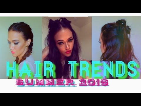 Spring Summer Hairstyle Trends