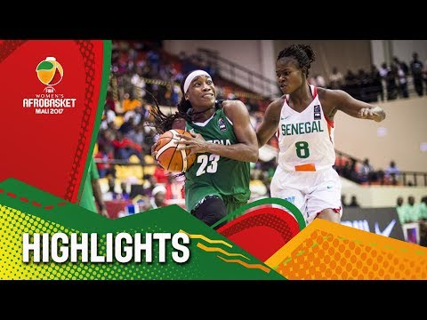 Senegal v Nigeria - Highlights - FIBA Women's AfroBasket 2017