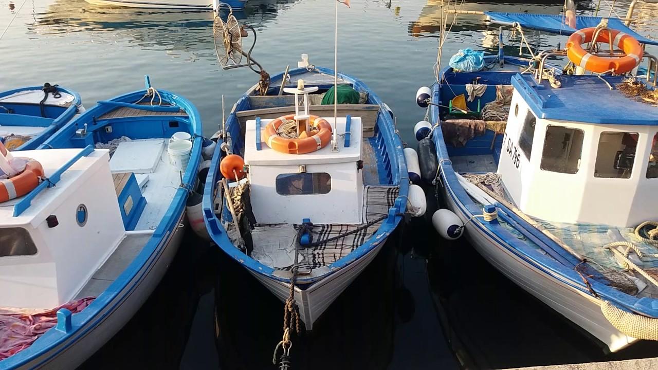 barche da pesca in legno artigianali handmade wooden
