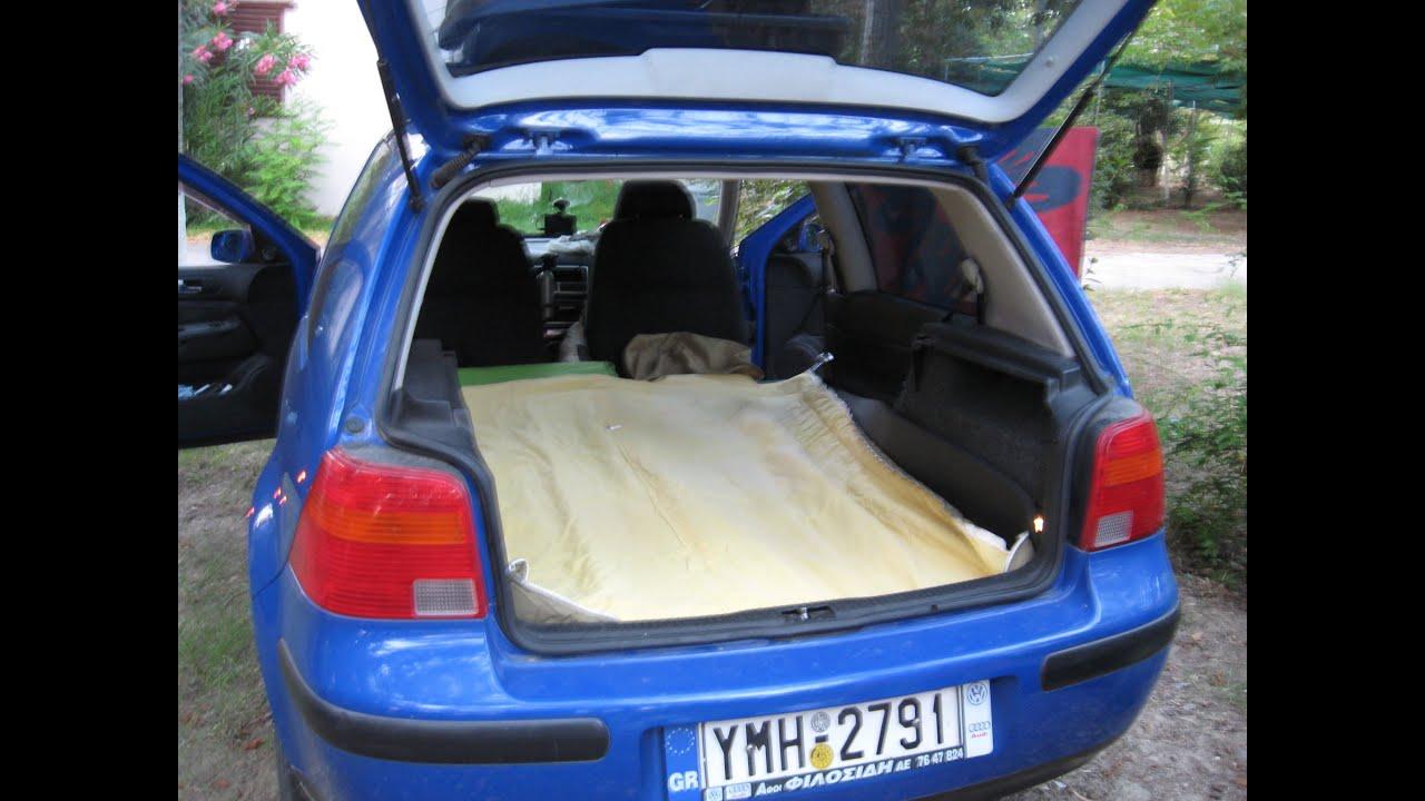 VW Golf IV Making A Bed