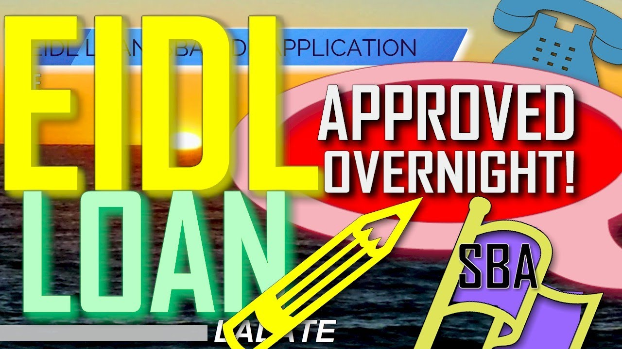 Download EIDL LOAN Bombshell Exclusive: Viewers EIDL Loans APPROVED OVERNIGHT! CRAZY SBA EIDL Loan REVERSAL !