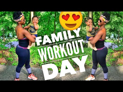 Family DAY workout | weight loss health  fitness