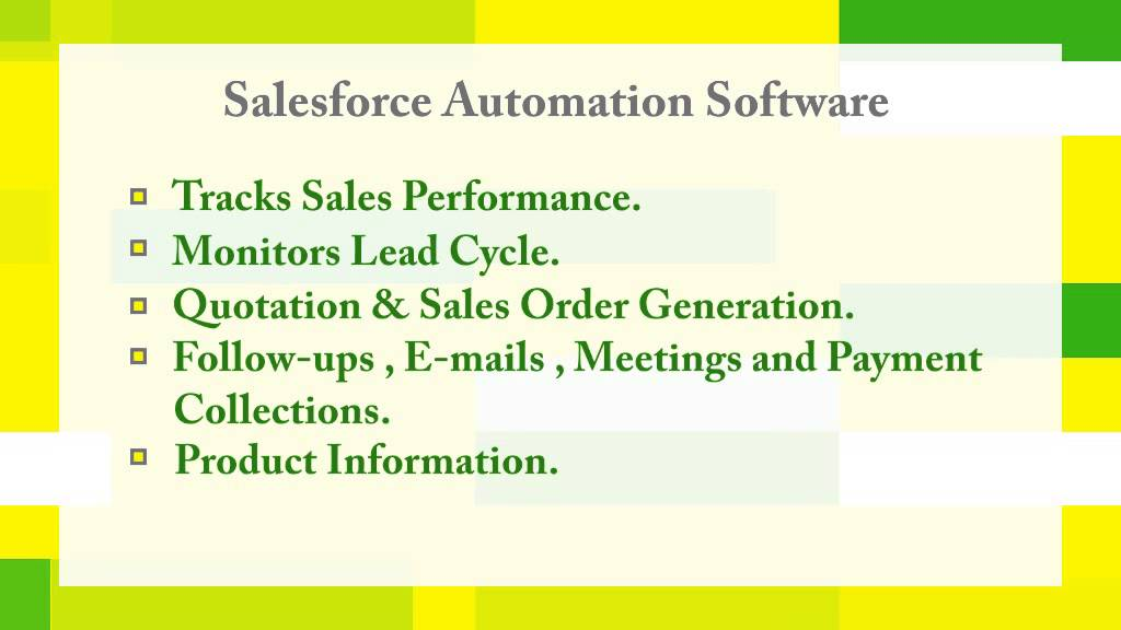 advantages disadvantages of sales force automation This page covers advantages and disadvantages of zigbee this wireless technology is used for variety of applications viz home automation, smart grid.