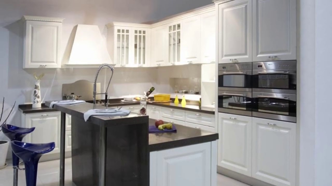 Gloss Kitchen Cabinets Paint In India Ideas Youtube