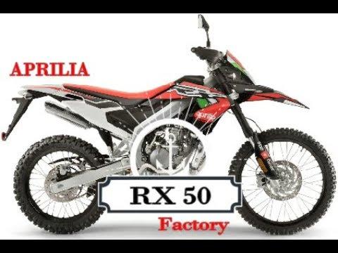 NEW Aprilia RX 50 Factory