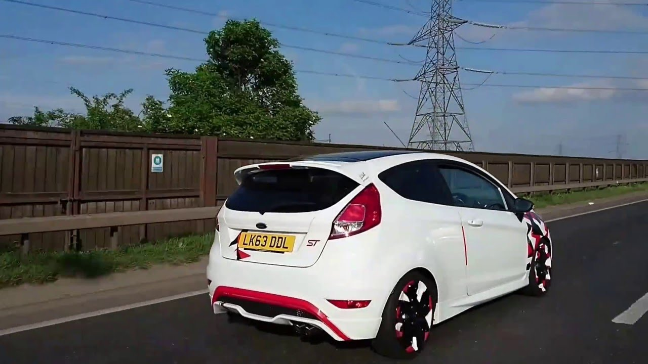 Stanced Honda Civic Type R Amp Ford Fiesta St Youtube