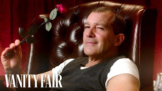 Antonio Banderas Reads Mind Blowing Facts About Love | Vanity Fair