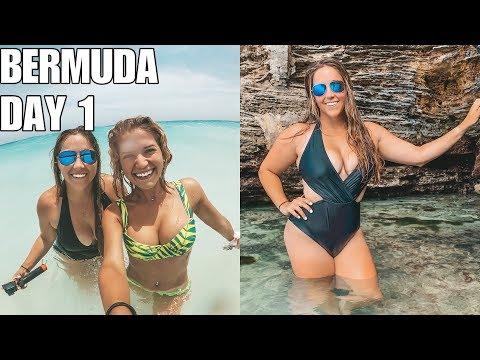 BERMUDA VLOG | CLIFF JUMPING, HORSESHOE BAY BEACH, & EXPLORING THE ISLAND!
