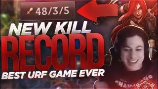 LL STYLISH | NEW KILL RECORD 🔥 [BEST URF GAME EVER ?]