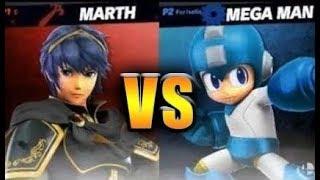 Super Smash Bros. Ultimate - Marth vs Megaman
