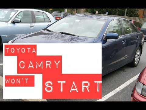 2009 Toyota Camry Won T Start Issue One Click Fixed
