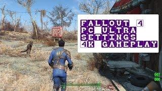 Fallout 4 - PC Ultra Settings - Gameplay (3840x2160,60fp, GTX980TI)