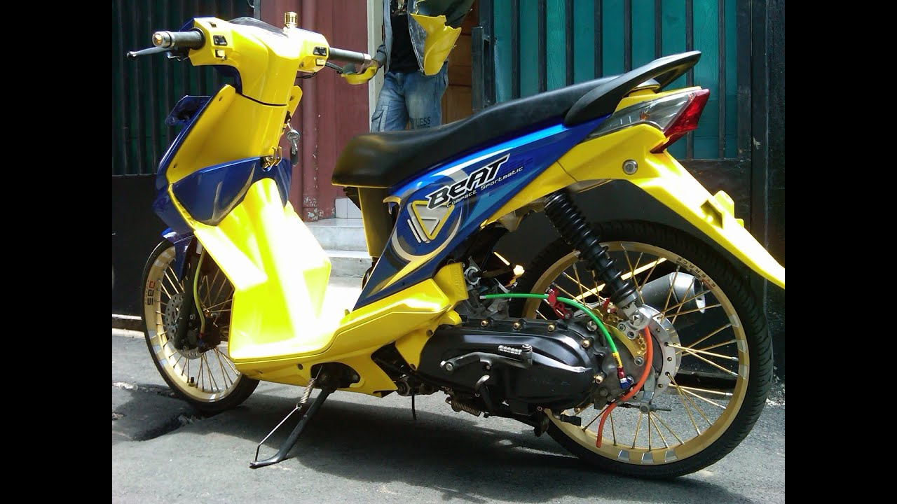Motor Trend Modifikasi Video Modifikasi Motor Honda Beat Ceper