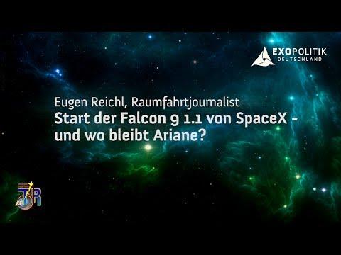 Start der Falcon 9 1.1 von SpaceX