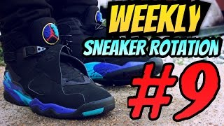 Weekly Sneaker Rotation On-Feet 9 #NumeroNueve