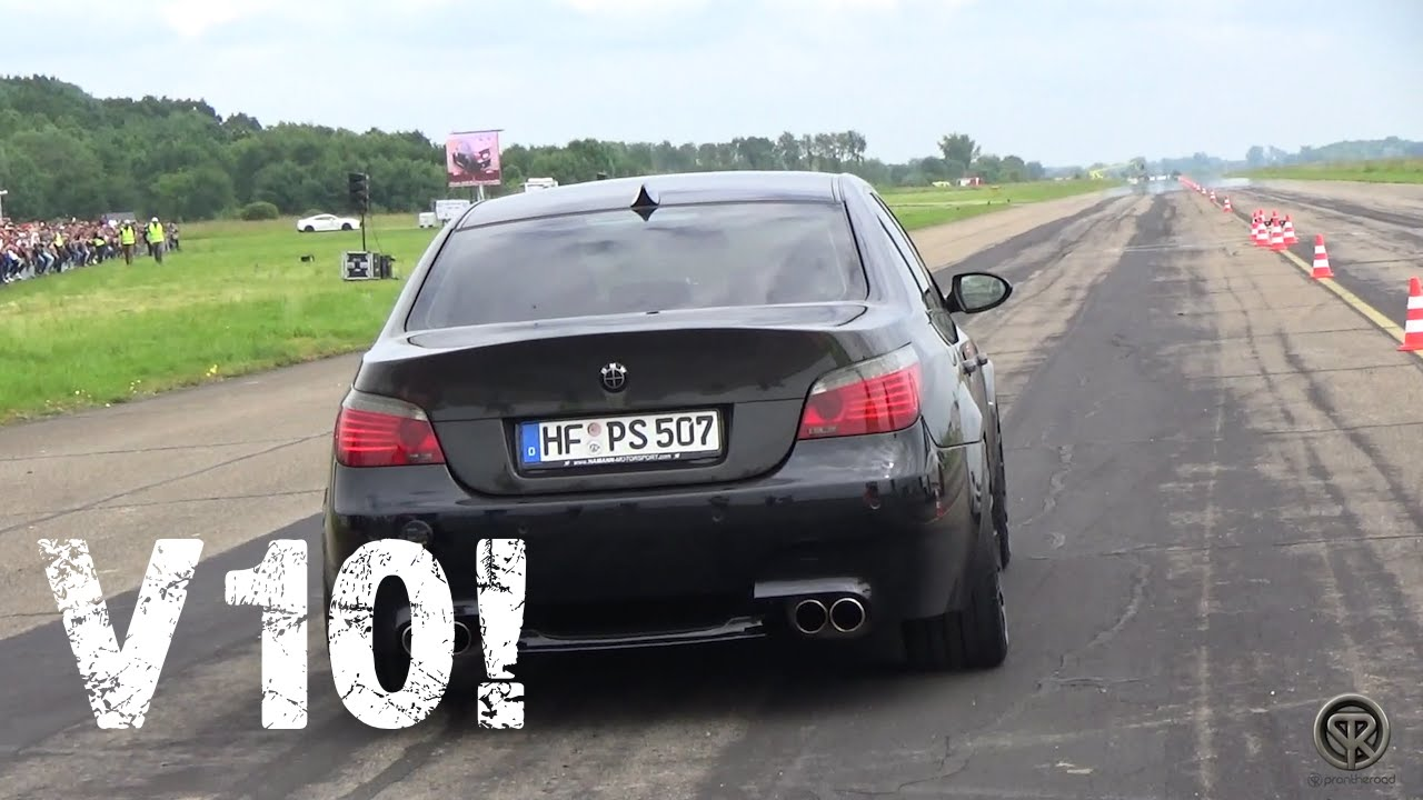bmw m5 e60 v10 brutal acceleration youtube. Black Bedroom Furniture Sets. Home Design Ideas
