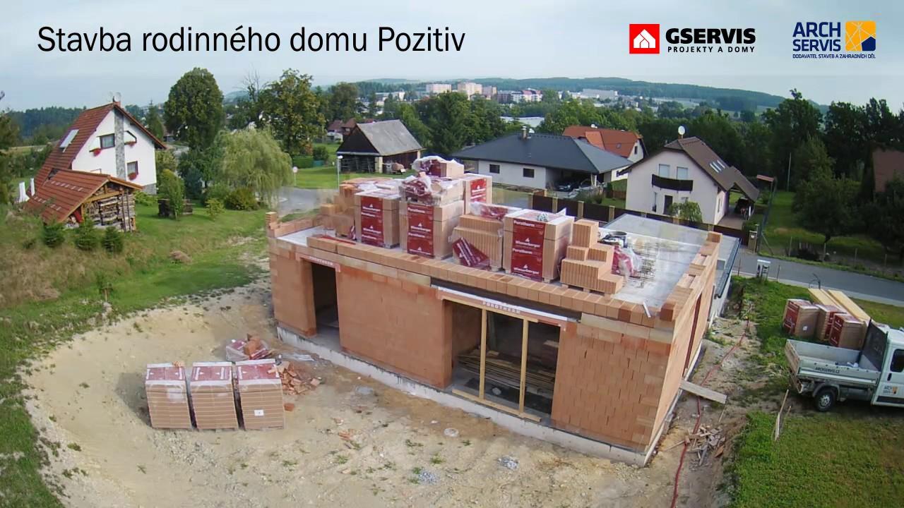Stavba domu video