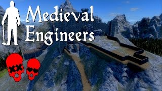 The Fort Part 1 | Building Vader Hall Part 15 | Medieval Engineers
