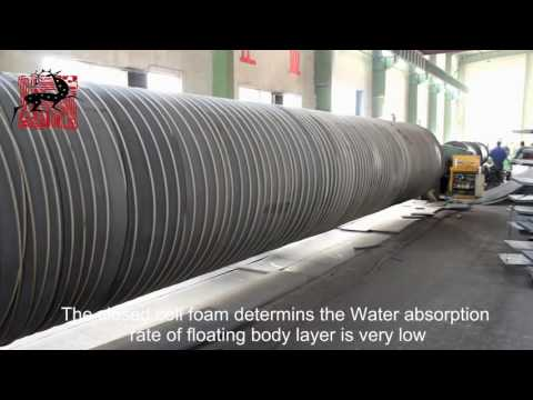 Floating Hose Production By Deers - Dredge Rubber Hose Supplier