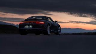 Porsche 911 991.2 Targa 4S roof operation