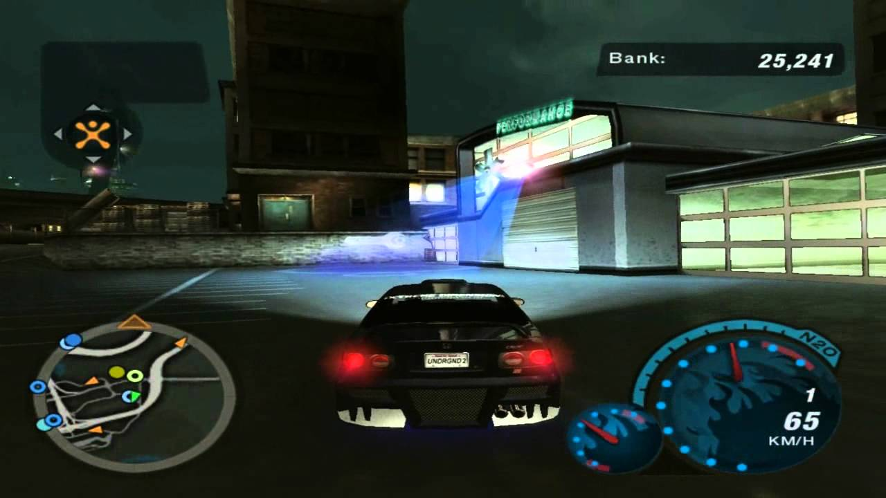 Need For Speed Underground 2 Discovering Hidden Shops Coal