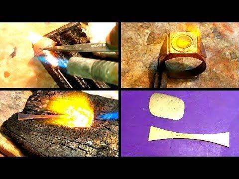 How Is Made Men's Gold Ring 22 Ct Hallmark 916(Handmade)