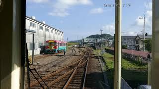 土佐くろしお鉄道 中村駅到着 前面展望