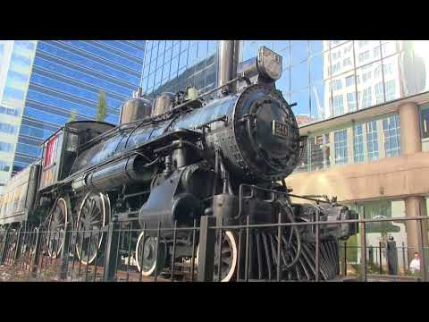 Canadian Pacific steam locomotive #29 Calgary, Alberta.