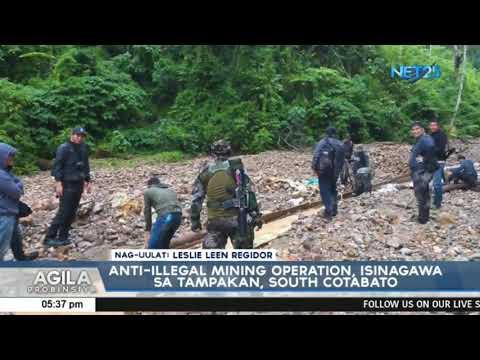 Anti-illegal Mining Operation, Isinagawa Sa Tampakan, South Cotabato