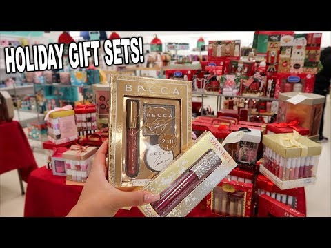 AFFORDABLE High End Makeup HOLIDAY GIFT SETS! TOO FACED, BECCA! thumbnail