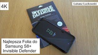 Najlepsza folia ochronna na Samsung S8/S8+ Ringke Invisible Defender | Montaż