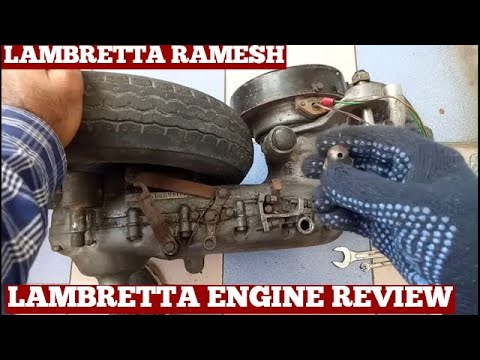 How To Open Old Engine Cover Lambretta Scooter-Removing Engine Cover Lambretta Scooter At Home