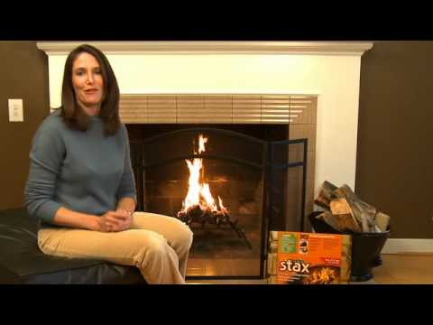 Tips for building a quick and easy fire in a fireplace - YouTube