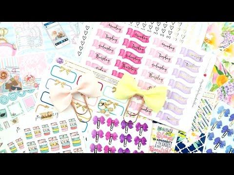 Planner Sticker & Accessory Haul!