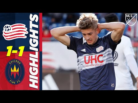 New England Revolution 1-1 Chicago Fire   Unbelievable Last-Second Miss!   MLS HIGHLIGHTS