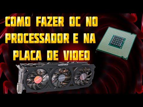 Como fazer overclock no processador e na placa de video #ParaIniciantes [2014]